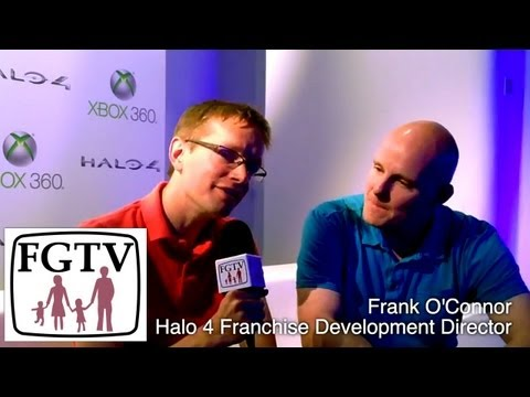 Halo 4 Hands On Previews with Frank O'Connor (FGTV 2.32) - YouTube thumbnail
