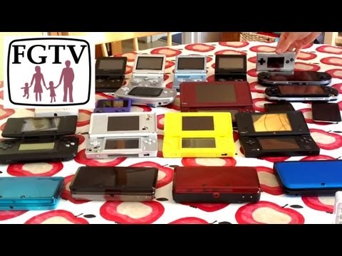 Huge Battery Test 3DS/XL DS/i/iXL GBA/SP/Micro Gameboy/Color PSP (FGTV 2.26)