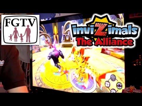 Invizimals The Alliance Vita PS3 Hands-On - YouTube thumbnail