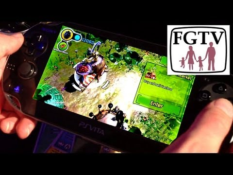 Invizimals Vita, PS3 Hands On – Trading Cards, Augmented, Cross-Play - YouTube thumbnail