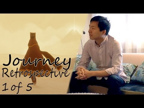 Journey PS3 Retrospective – Interview with Jenova Chen (1 of 5) - YouTube thumbnail