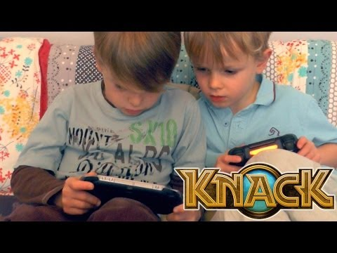 Knack PS4 Let's Play #1 Brothers Co-Op – Chapter 2-3 An Unexpected Encounter