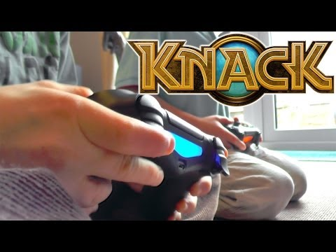 Knack PS4 Let's Play #2 Brothers Co-Op – Chapter 2-1 The Adventure Begins - YouTube thumbnail