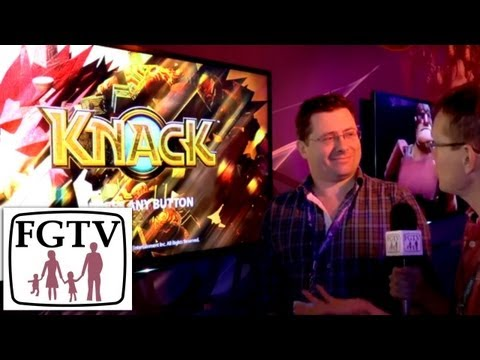 Knack PS4 Level 1 Gameplay and Interview - YouTube thumbnail