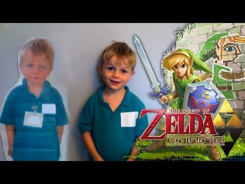 Legend of Zelda: Link Between Worlds – 3DS Family Hands On - YouTube thumbnail