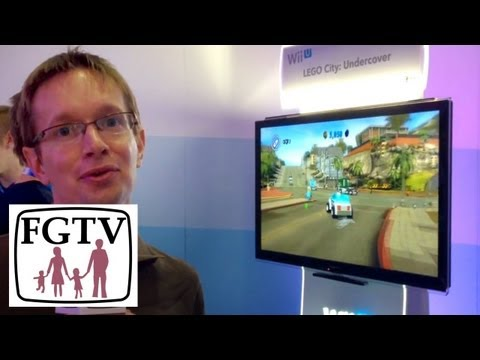 Lego City Undercover Wii U 3DS Hands-on Gameplay Preview (FGTV 2.58) - YouTube thumbnail
