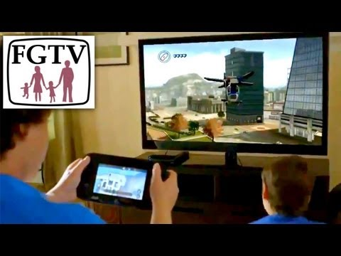Lego City Undercover Wii U Review (Part 1 of 2), Hands-On with Family - YouTube thumbnail