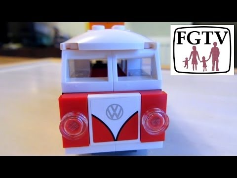LEGO Creator 40079 Mini VW T1 Camper Van Review, Build and Unboxing - YouTube thumbnail