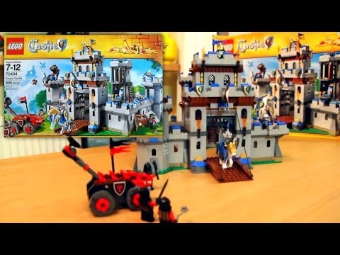 LEGO Kings Castle 70404 Unboxing and Review - YouTube thumbnail