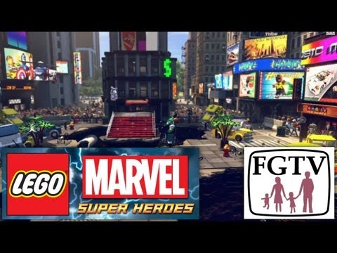 "LEGO Marvel Super Heroes NEW! ""Times Square"" ""Baxter Building"" ""Superior Spiderman"" Game Footage - YouTube thumbnail"