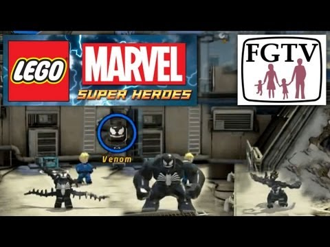 LEGO Marvel Super Heroes Preview With Game Director – Venom Big Fig Transformation, Wii Version - YouTube thumbnail