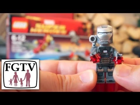 LEGO Review (76006) Iron Man 3: Extremis Sea Port Battle – Marvel Super Heroes Review & Unboxing - YouTube thumbnail