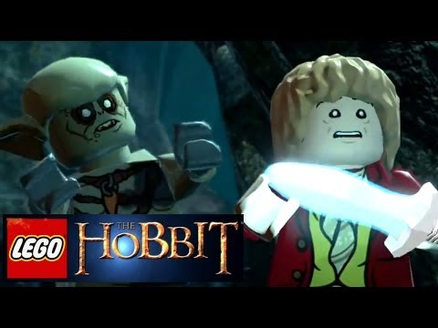 LEGO The Hobbit Video-Game Announce Trailer Wii U, 360, Xbox One, PS3, PS4, 3DS, Vita - YouTube thumbnail