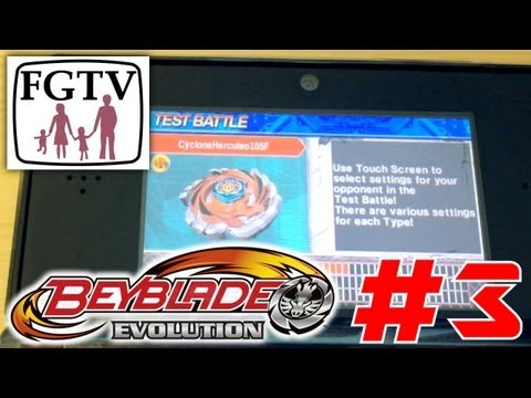 Let's Play Beyblade Evolution 3DS with the family Day 3 (Turn 7) - YouTube thumbnail