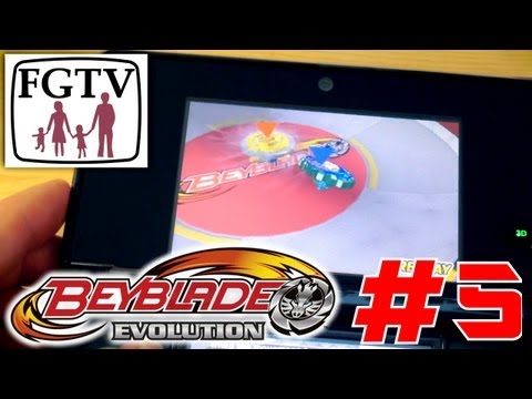 Let's Play Beyblade Evolution 3DS with the family Day 5 (Turn 36) - YouTube thumbnail