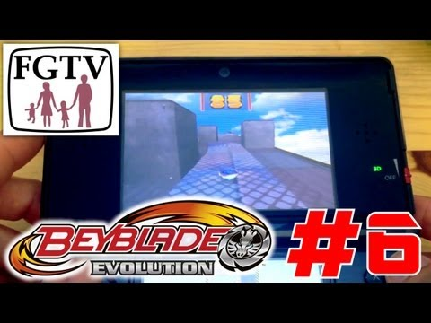 Let's Play Beyblade Evolution 3DS with the family Day 6 (Turn 40) - YouTube thumbnail
