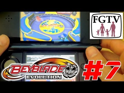 Let's Play Beyblade Evolution 3DS with the family Day 7 (Turn 45) – Tournament - YouTube thumbnail
