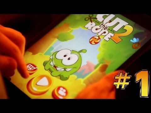 Let's Play Cut The Rope 2 #1 – First 5 Minutes Forest & City Park - YouTube thumbnail