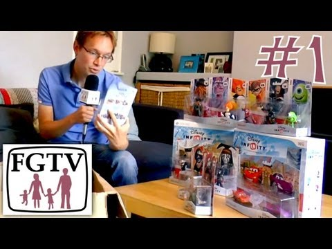 Let's Play Disney Infinity 1 – Unboxing Figures and Play Sets - YouTube thumbnail