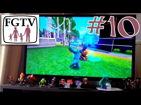 Let's Play Disney Infinity 10 – Wii Version on Monsters University - YouTube thumbnail