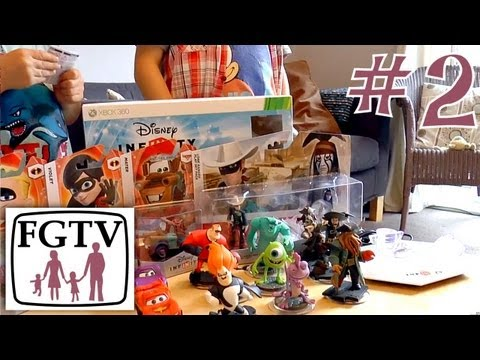 Let's Play Disney Infinity 2 – Big Unboxing Toy Figure Sets - YouTube thumbnail