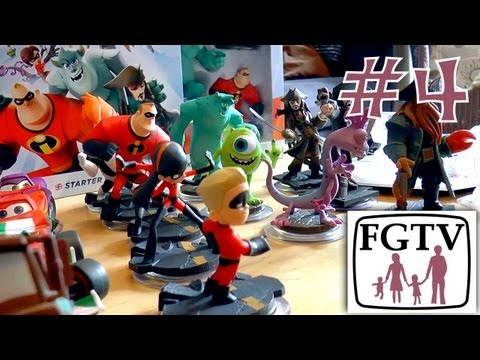Let's Play Disney Infinity 4 – All Wave 1 Figures and Playsets Unboxed - YouTube thumbnail