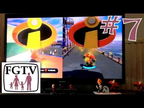 Let's Play Disney Infinity 7 – The Incredibles First Stages - YouTube thumbnail
