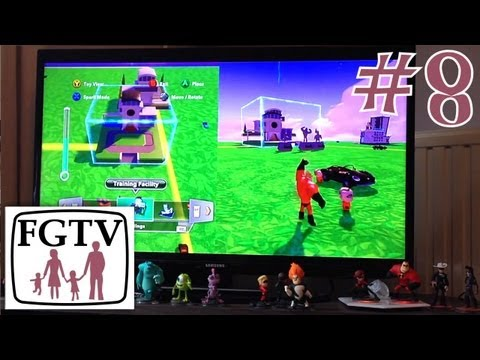 Let's Play Disney Infinity 8 – Kids Try Toy Box Mode