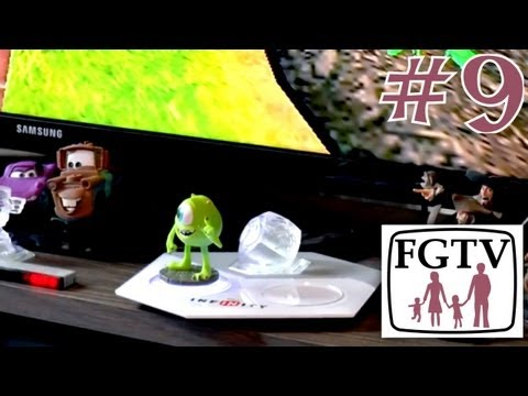 Let's Play Disney Infinity 9 – Wii Version on Monsters University - YouTube thumbnail