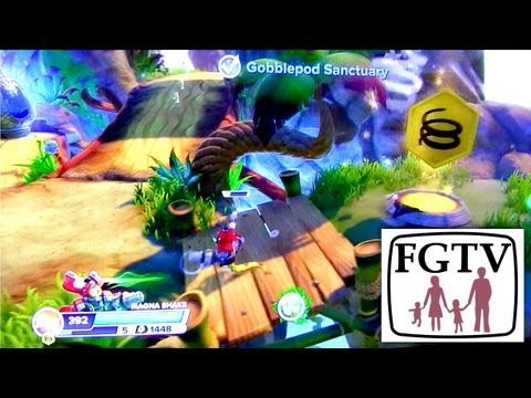 "Let's Play PS4 Skylanders Swap Force – 20 Minutes ""Cascade Glade"" Off Screen Glitch - YouTube thumbnail"