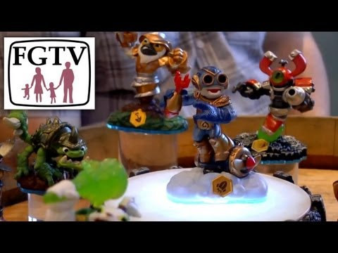 "Let's Play PS4 Skylanders Swap Force on ""Winters Keep"" (1 of 3) - YouTube thumbnail"