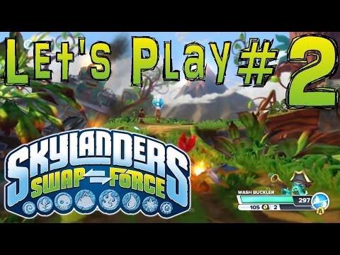 "Let's Play Swap Force #2 – Chap 1 ""Mount Cloudbreak"" - YouTube thumbnail"