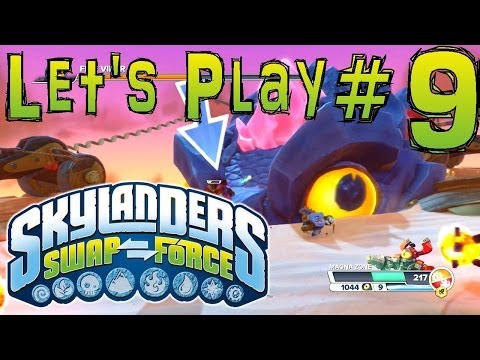 Let's Play Swap Force #9 (Girl Plays) – Chap 8/9 Twisted Tunnels & Serpents Peak (with Roller Brawl) - YouTube thumbnail
