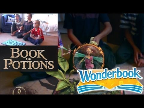 "Let's Play Wonderbook Book of Potions – Chapter 4 ""Beautification Potion"" - YouTube thumbnail"