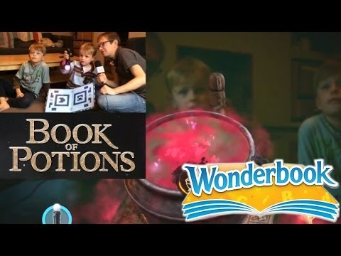 "Let's Play Wonderbook Book of Potions PS3 – Chapter 3 ""Shrinking Solution"" - YouTube thumbnail"