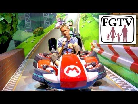 Mario Kart 8 Wii U, Hands-on Gameplay at E3 - YouTube thumbnail