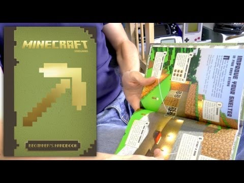 Minecraft Beginner's Handbook Guide Book Review - YouTube thumbnail