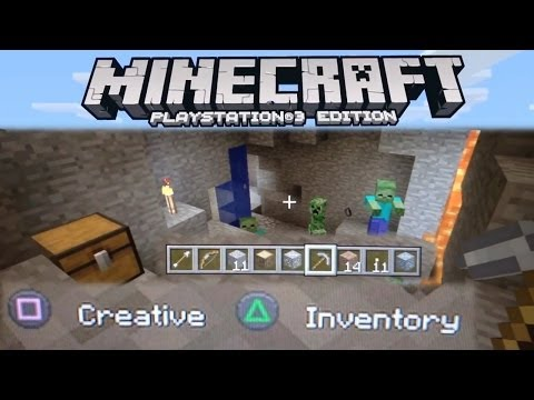 Minecraft PlayStation Edition – PS3 / PS4 / Vita Hardware and Minecraft - YouTube thumbnail