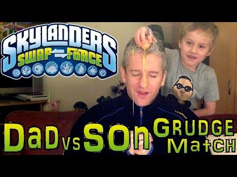 New Year Grudge Match #16 – Dad & Son Swap Force Battle: Hoot Buckler & Night Loop - YouTube thumbnail