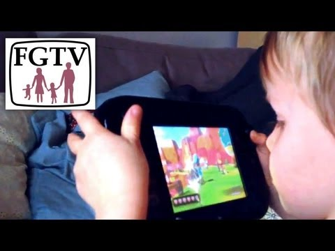 Nintendo Land Wii U Family Review (FGTV 2.65) - YouTube thumbnail