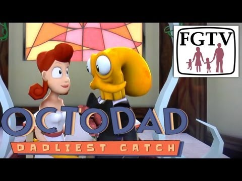 Octodad PS4 Hands-on Preview – Our First 8 Minutes, Off Screen Capture - YouTube thumbnail