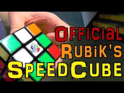 Official Rubik's Speed Cube – Sneak Peek and Hands-On - YouTube thumbnail