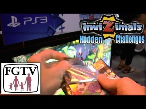 Opening Invizimals Hidden Challenges Cards – iOS/Android/Vita – Common vs Foil - YouTube thumbnail