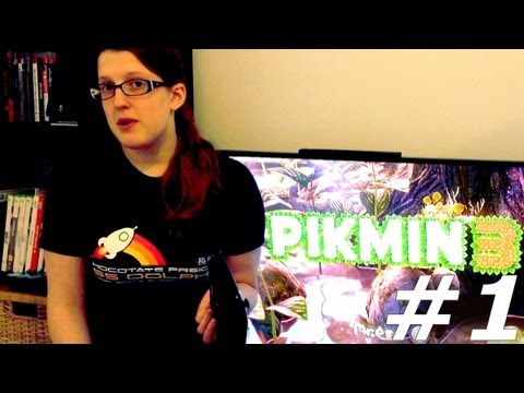 Pikmin 3 Let's Play With Family Part #1 Day 1 - YouTube thumbnail