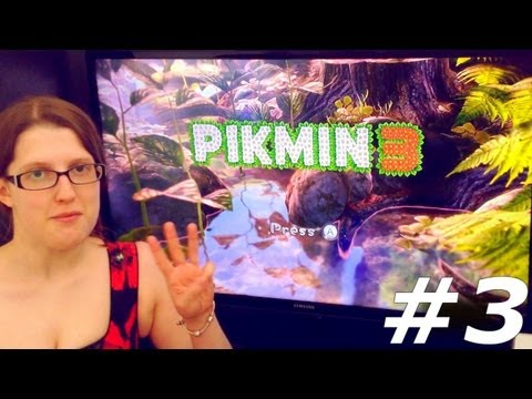 Pikmin 3 Let's Play With Family Part #3 Day 3 - YouTube thumbnail