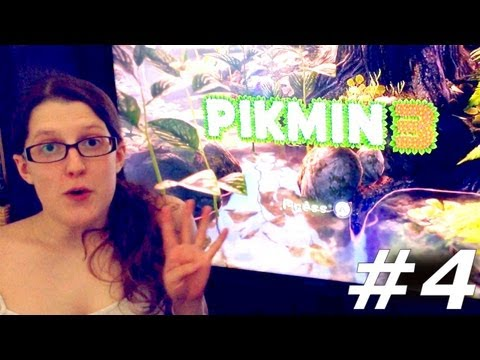 Pikmin 3 Let's Play With Family Part #4 Day 4 - YouTube thumbnail