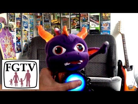 Plush Sklyanders Giants Spryo Light-up and Sound Toy (FGTV 2.54)