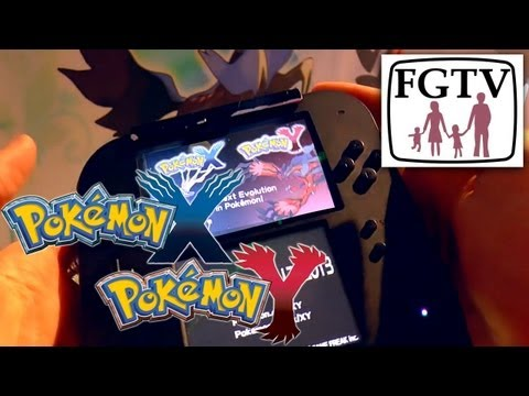 Pokemon X / Y Hands-On 2DS Gameplay Preview - YouTube thumbnail