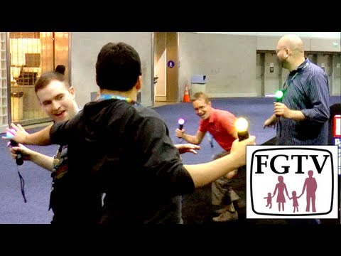 PS3 Move Joust and Quickdraw – Physical Video-Game - YouTube thumbnail