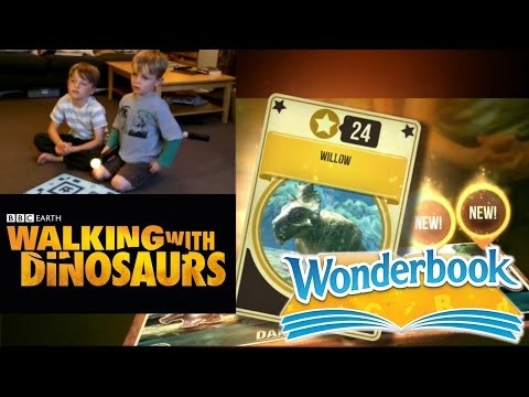 PS3 Wonderbook's BBC Walking With Dinosaurs – Let's Play Chapter 1a